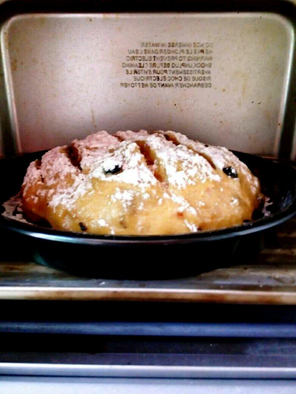 欧式葡萄干面包#美的绅士烤箱#的做法图解5