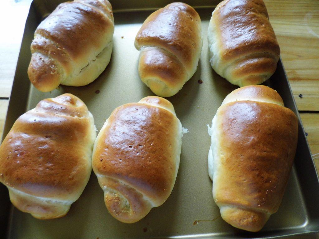 椰蓉面包卷的做法图解15