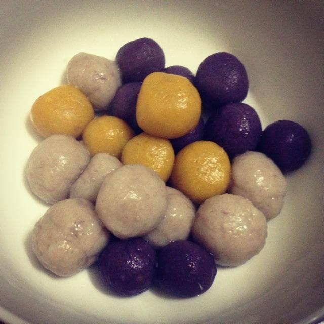 南瓜芋圆甜汤的做法图解5