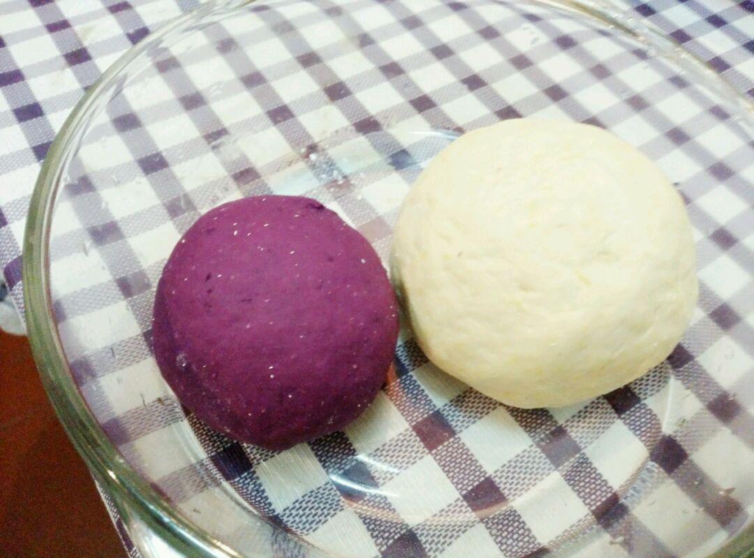 紫薯小馒头#爱仕达寻找面点女王#的做法图解1