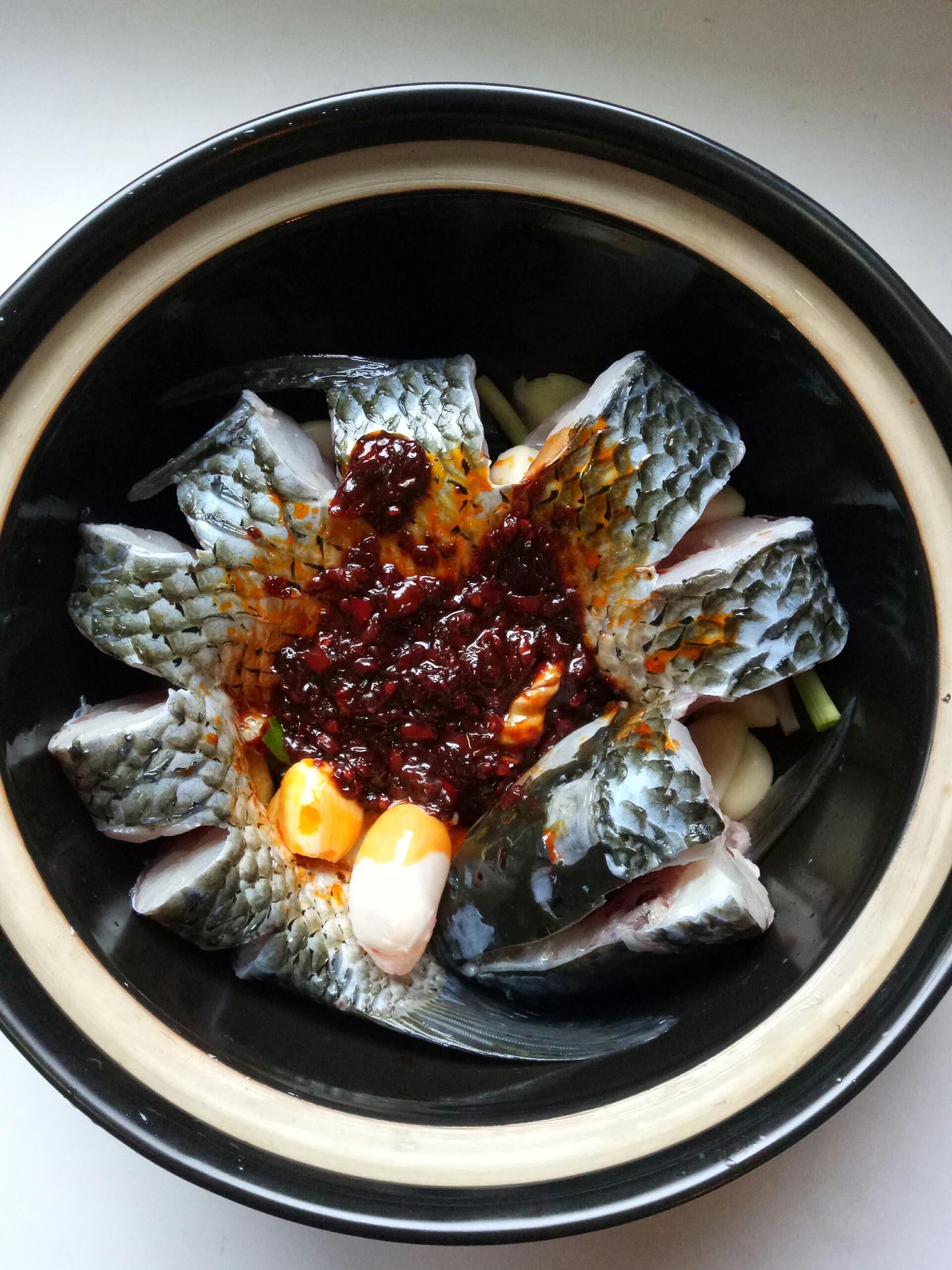 砂锅青鱼的做法步骤