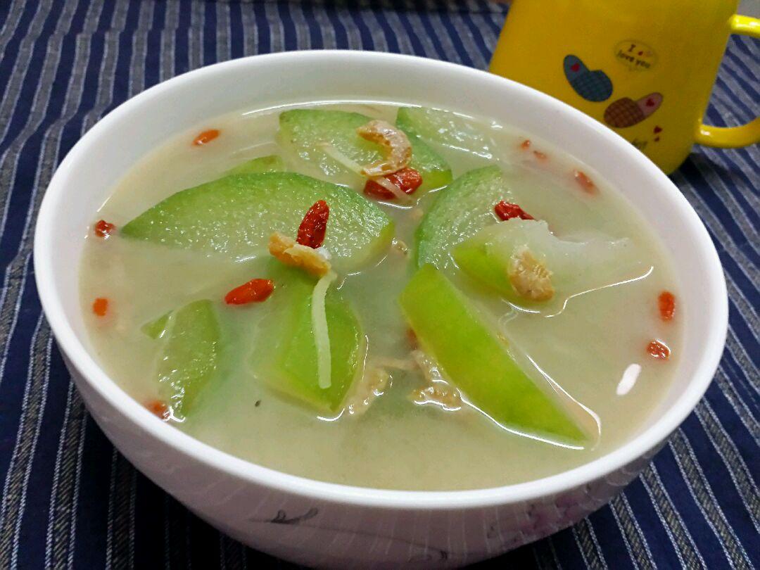 海米冬瓜汤的做法图解8