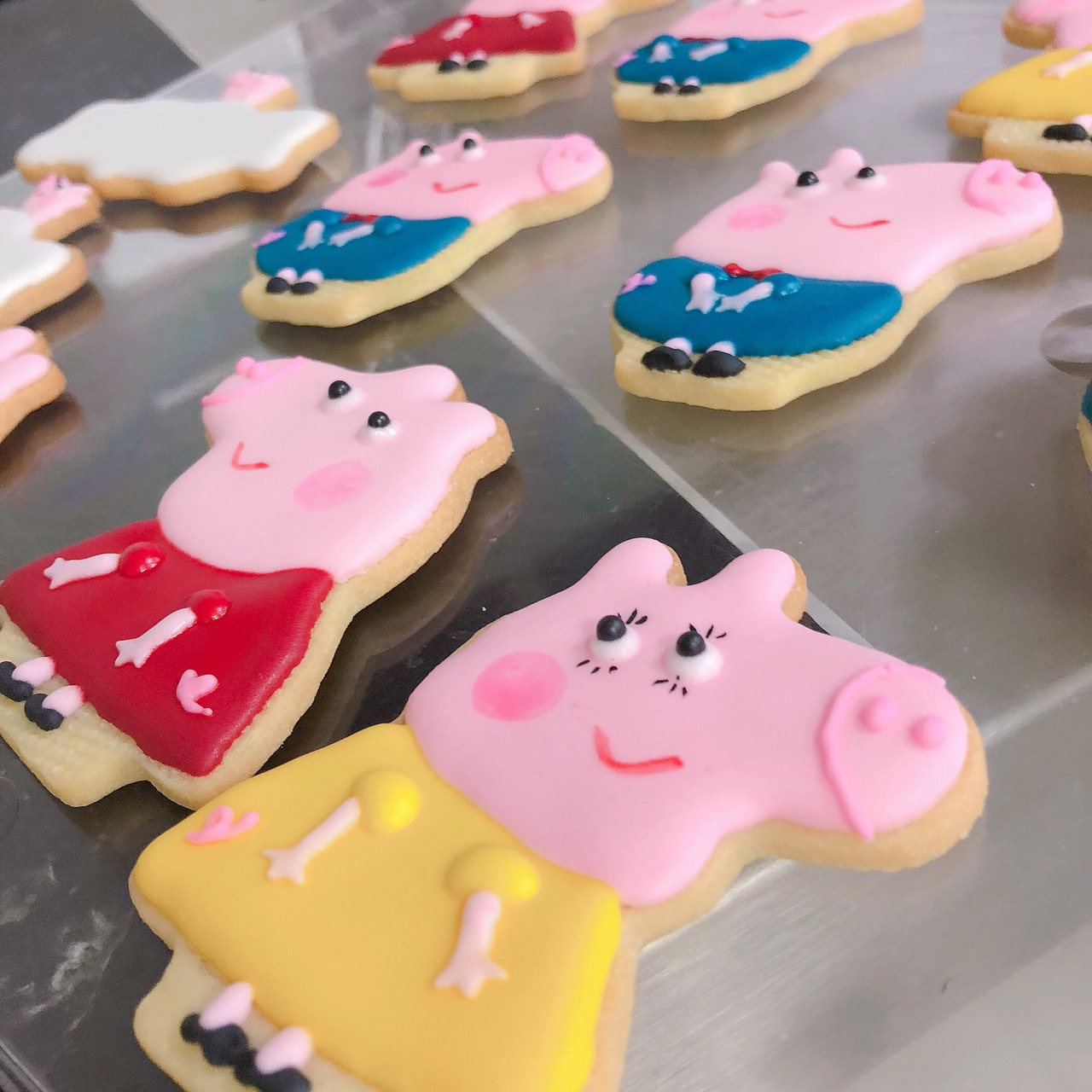 小猪佩奇糖霜饼干的做法图解4