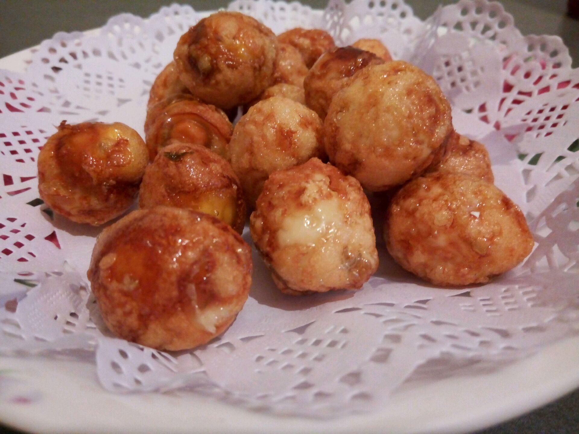 美食腊肉菜谱蛋#樱花虎皮#的味道_糖醋_豆果做法晾鹌鹑有小虫图片