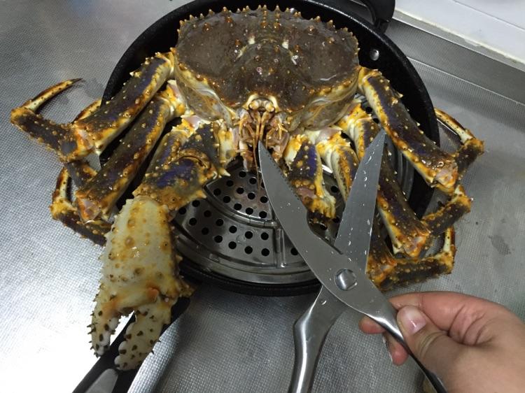 帝王蟹的做法图解5