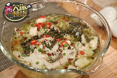 至鲜酸菜鱼,易胜博开户:至美叶一茜——来自《茜你一顿饭》的美味