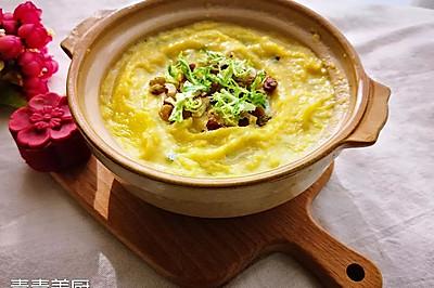 奶香南瓜羹 - 营养美味还能美容瘦身的早餐