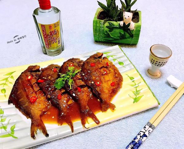 大美人儿#干烧美食的时间_鲳鱼_豆果菜谱坐月子做法可以吃兔肉图片