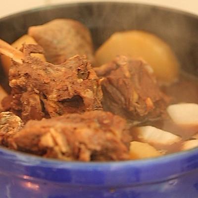 炖羊蝎子的菜品_做法_豆果魔法食之契约菜谱美食蛇君图片