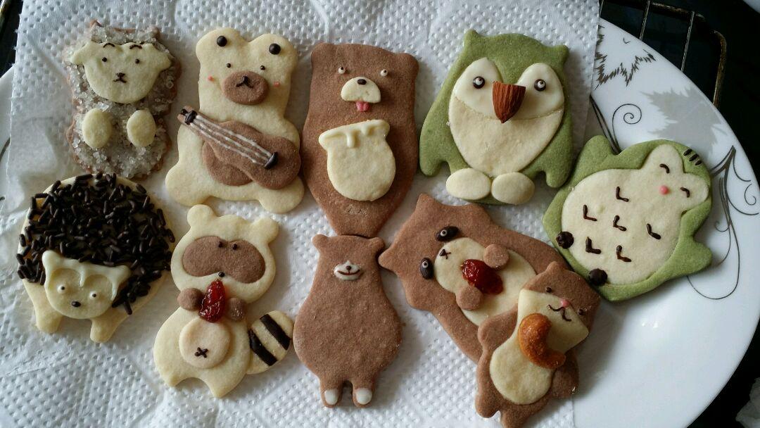 动物饼干,萌萌哒的做法图解2