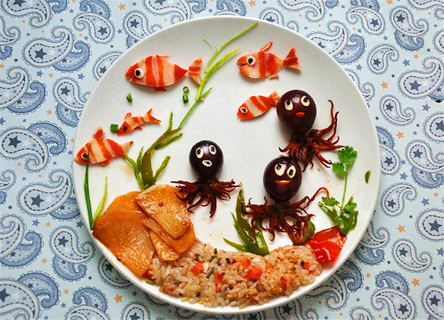 """""""趣味餐""""之海底世界"""