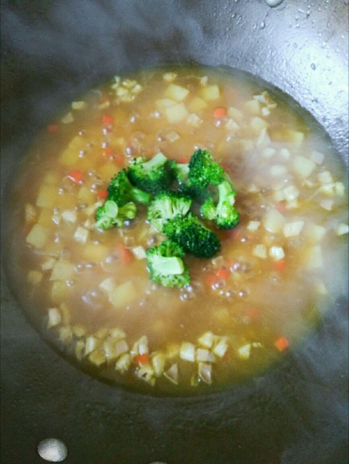 咖喱土豆汤的做法图解7