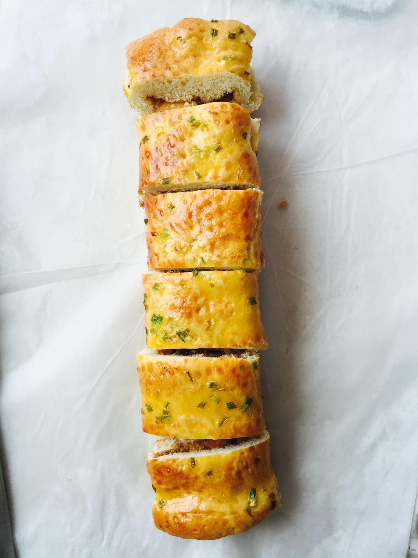 肉松面包卷的做法图解12