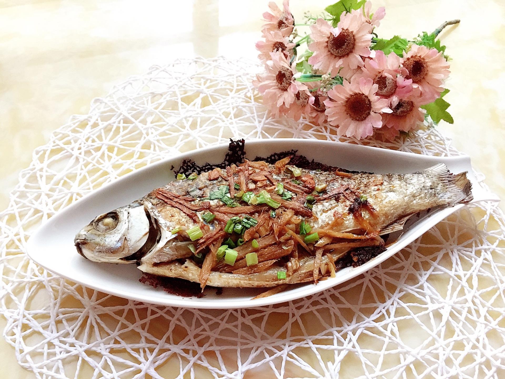 香煎鲮鱼的做法图解7