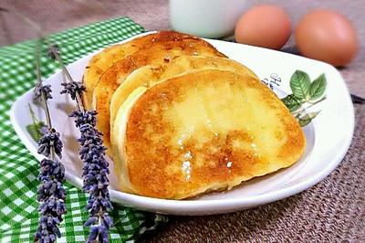 蛋煎馒头片(改良版)#金龙鱼外婆乡小榨菜籽油#