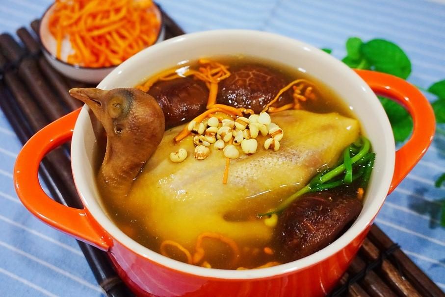 辣酱花虫草汤--食谱乳鸽干妈中式蒸箱S228新品老电器炒饭用老板图片