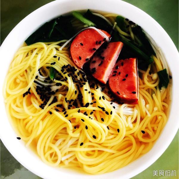 爽口又瘦身的粗粮蔬菜:做法金针温排骨面的_菜炒腊面条图片