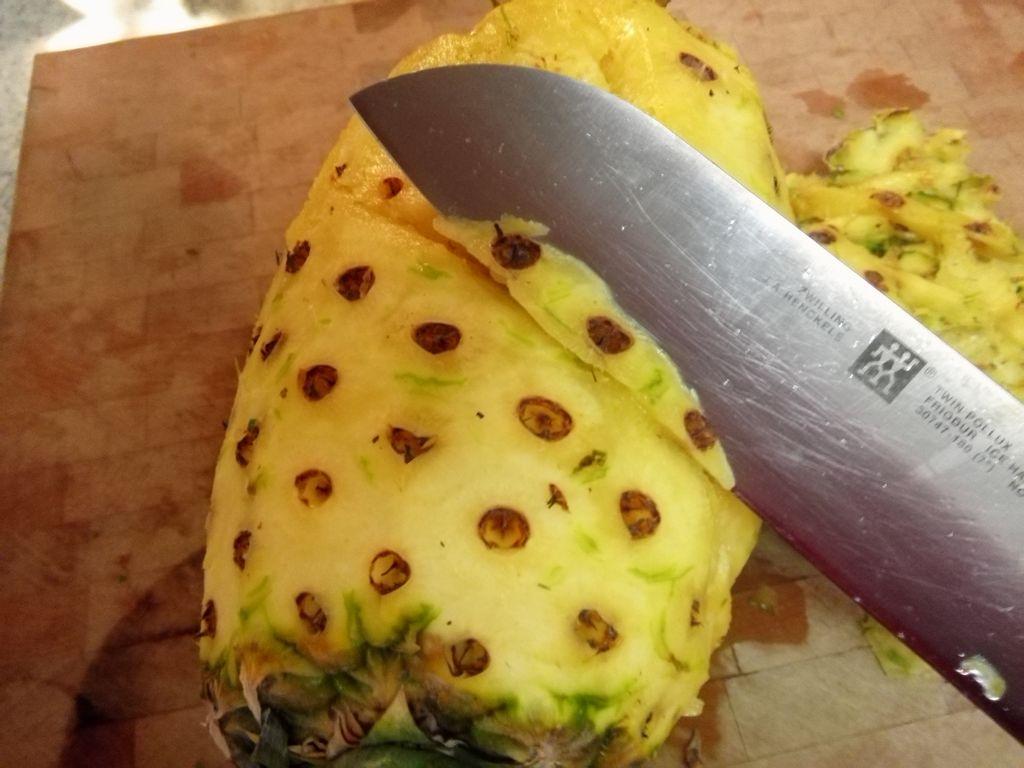 菠萝的处理的做法步骤