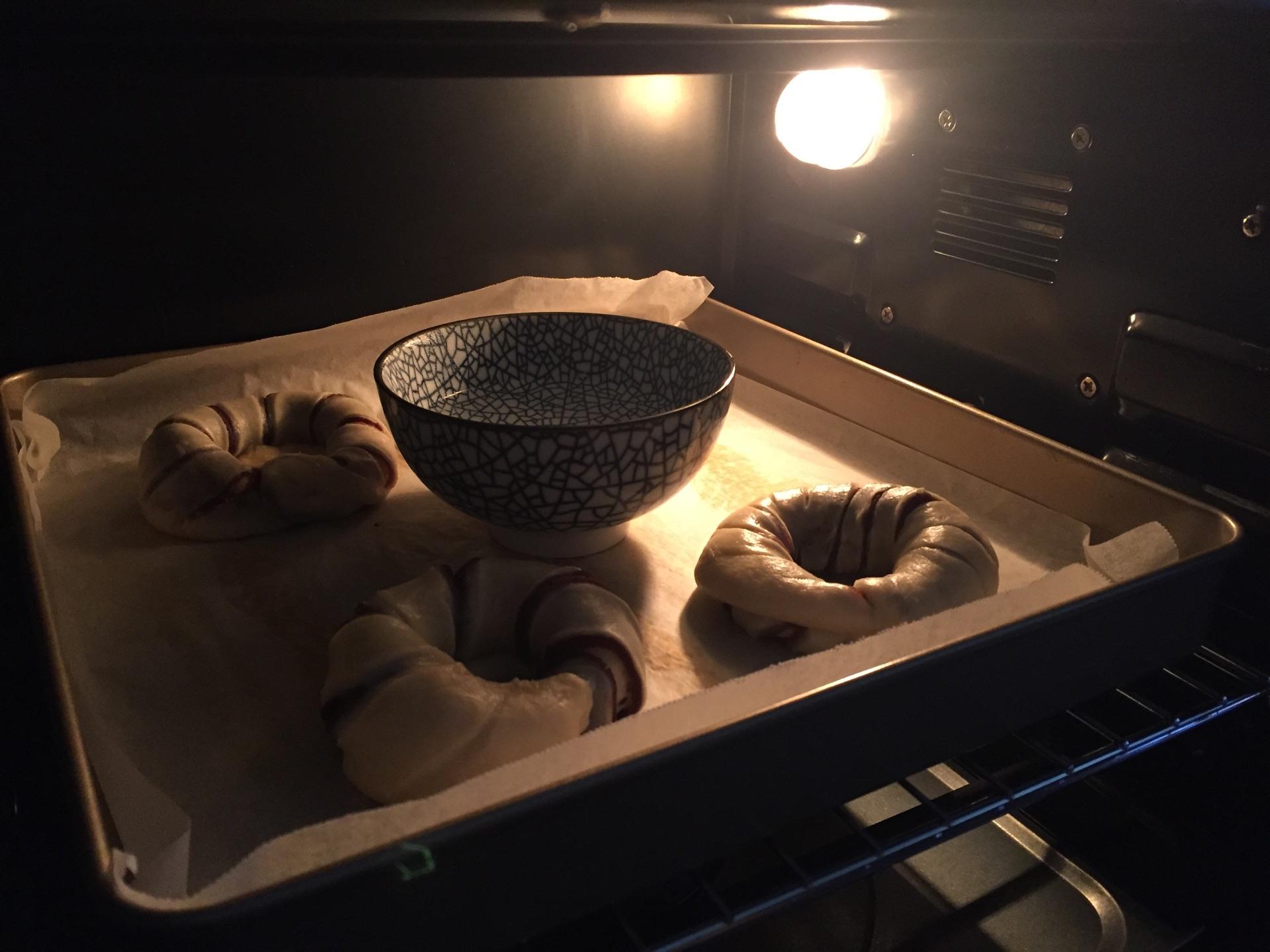 豆沙花式面包#柏翠辅食节-烘培零食图片