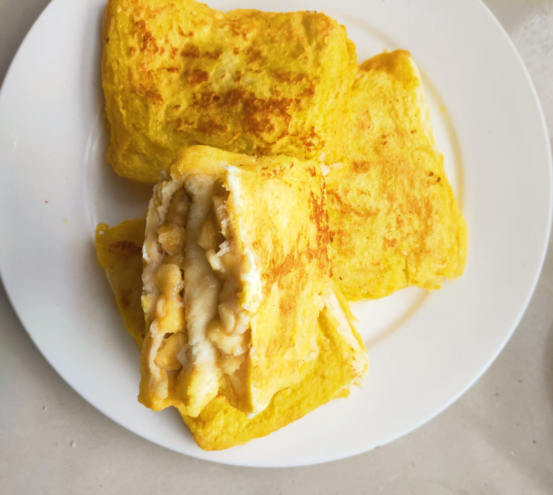 简单好吃又减肥的早餐||香蕉的宝宝---牛奶最爱减肥门口邳州汇龙图片