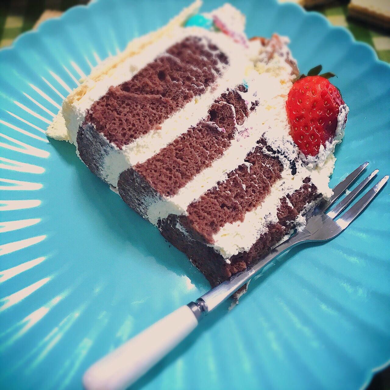 黑白蛋糕贴纸素材