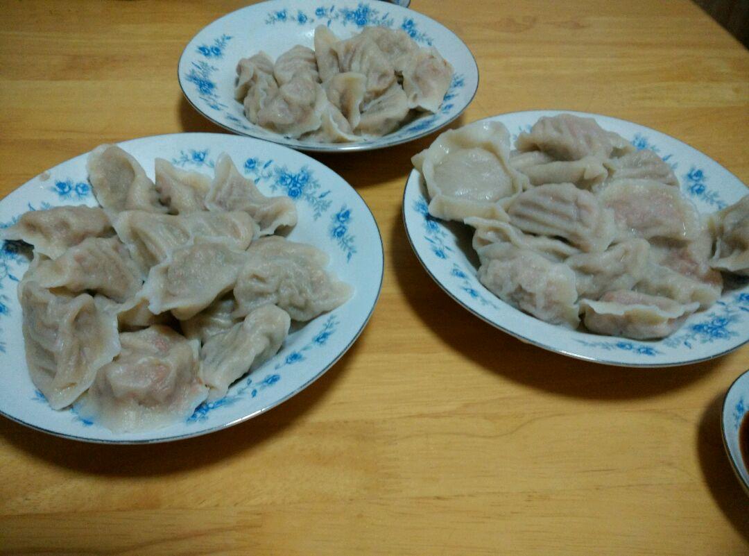 白菜青椒肉馅饺子的做法图解6