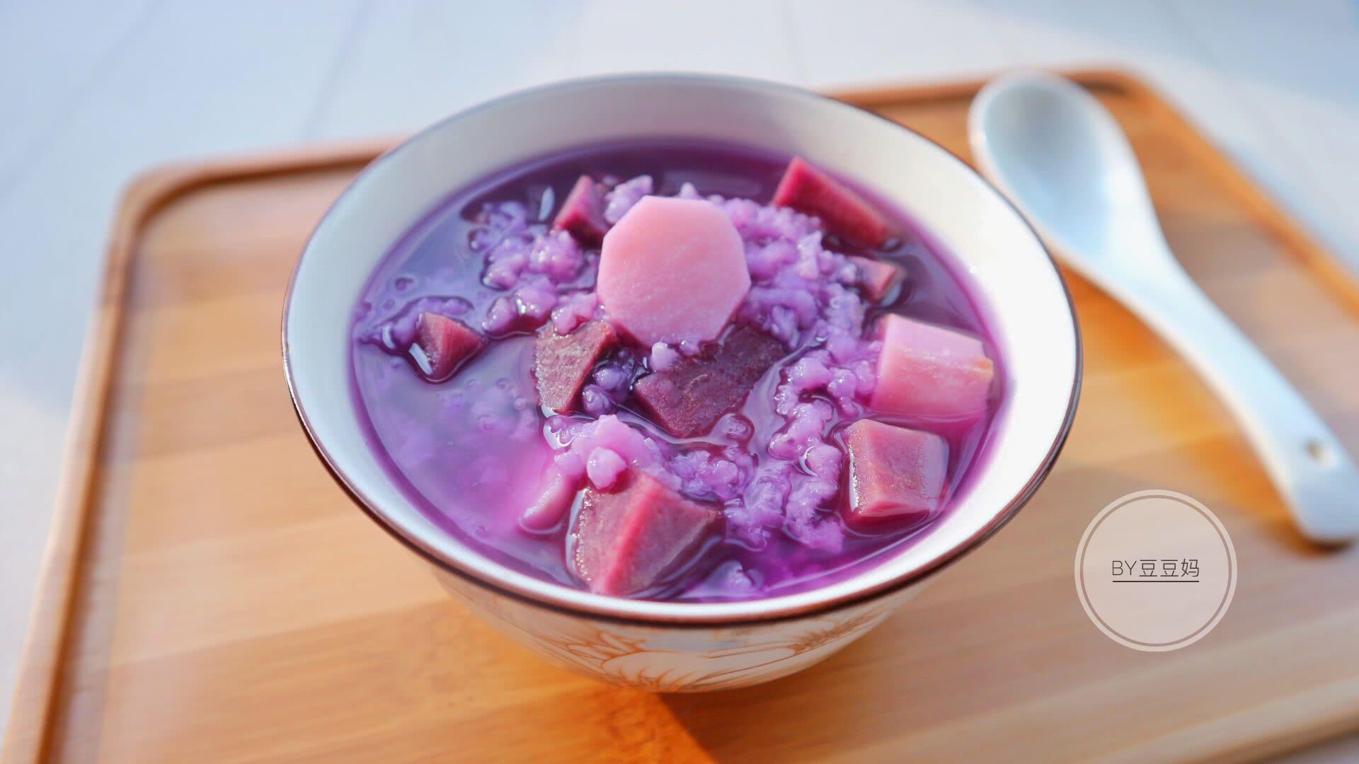 紫薯山药粥#胃,我养你啊#的美食_大全_豆果做法自制腌菜饼菜谱做法图片