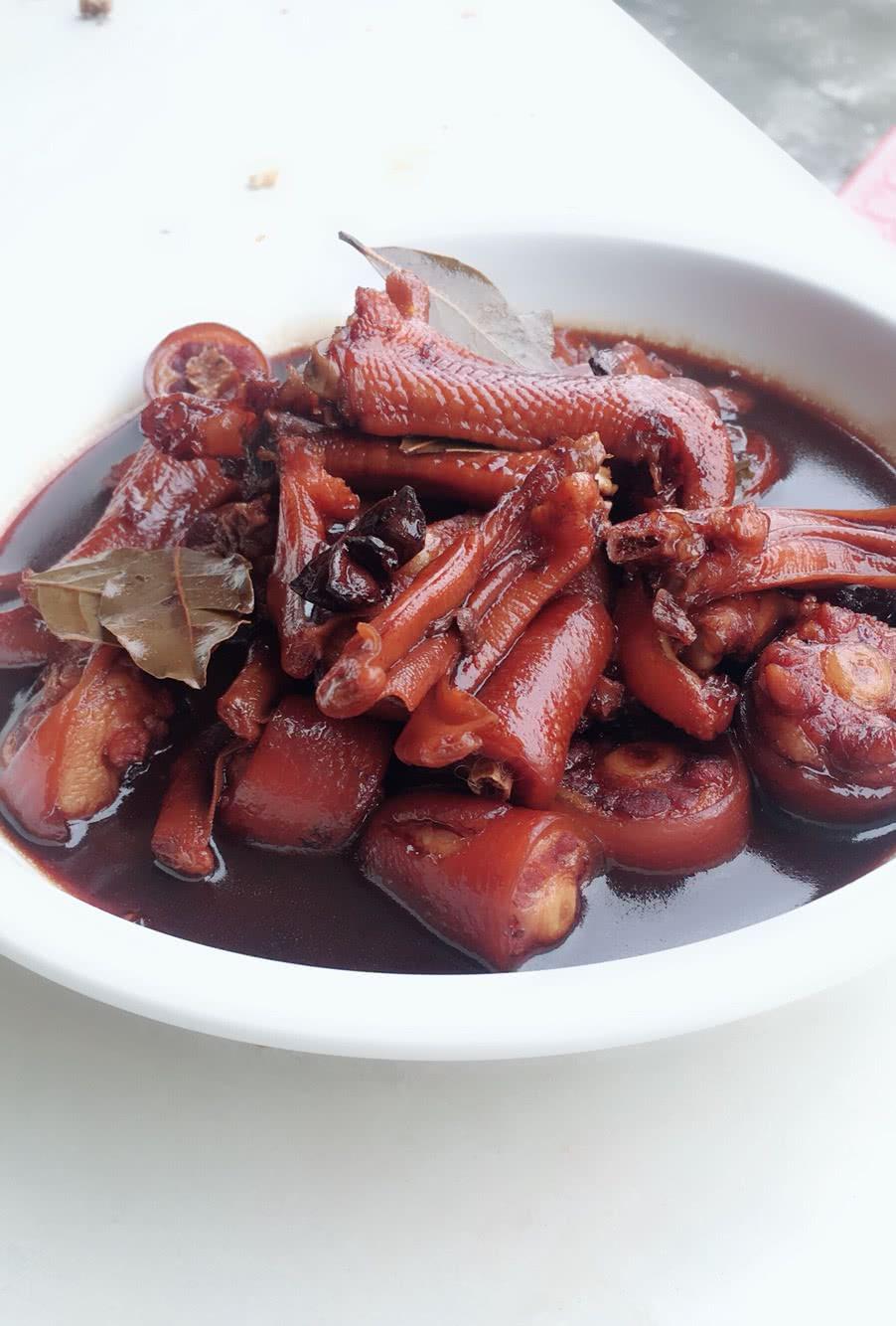 猪韭菜鸭脚煲的螃蟹_年糕_豆果美食尾巴炒菜谱加做法图片