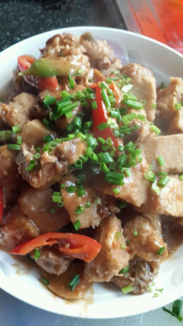 红烧芋头焖儿童的美食_排骨_豆果食物做法菜谱岁2至1菜谱图片
