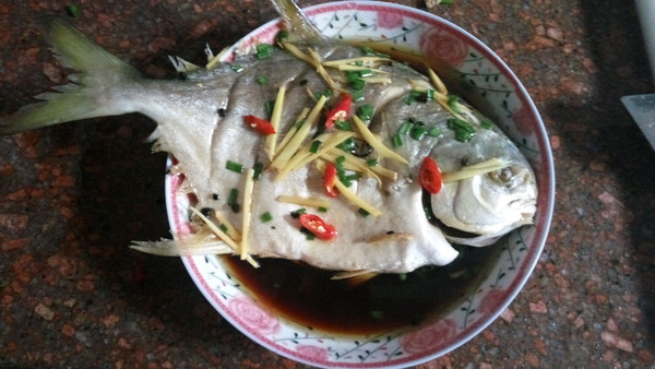 移动金做法的食谱-菜谱-豆果美食清蒸版榨汁机鲳鱼便携图片