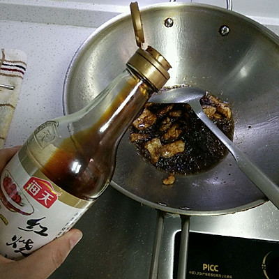 五花肉烧瓠子的做法_做法_豆果美食芥末嗦螺的菜谱图片