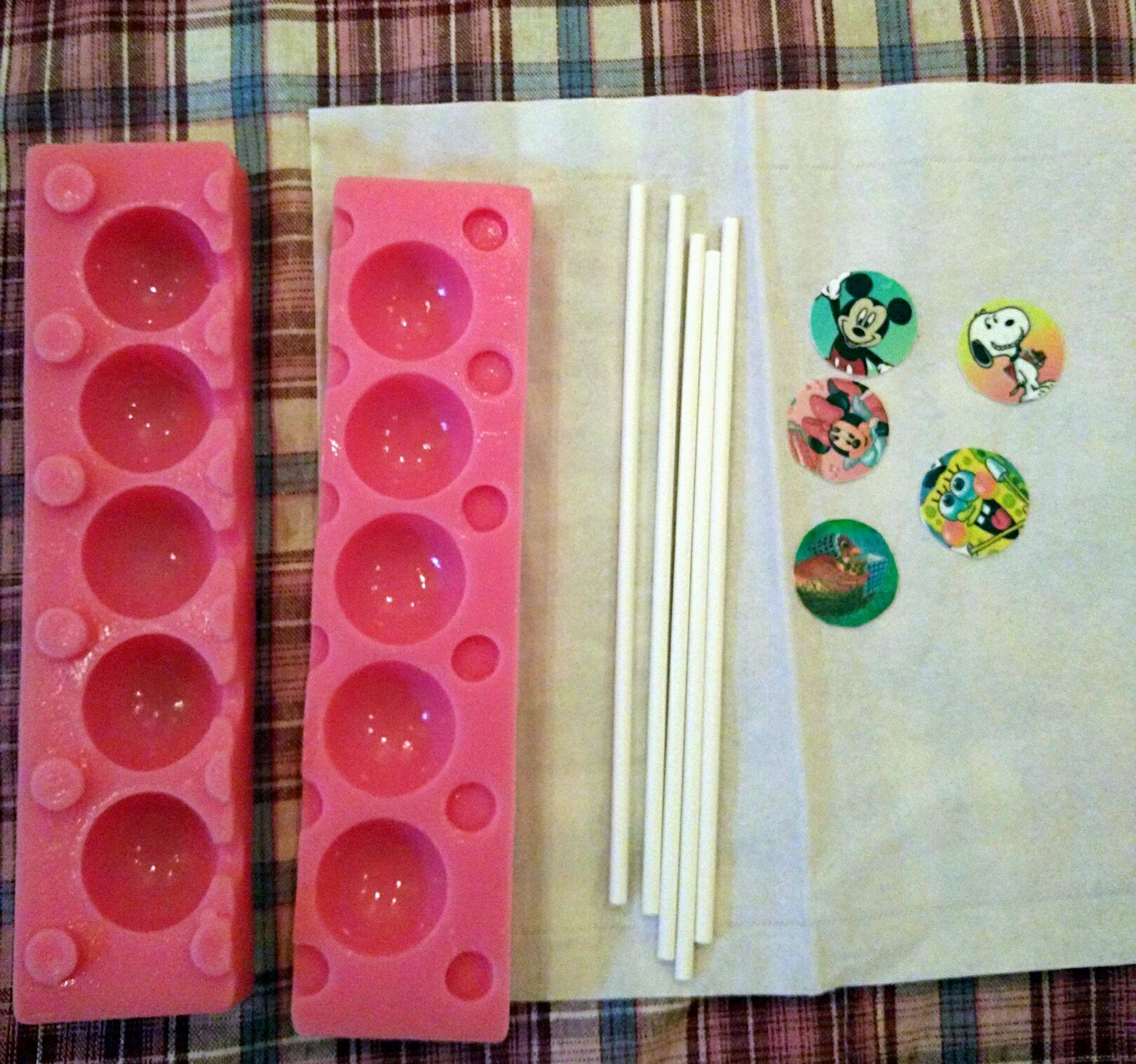水晶棒棒糖的做法步骤 3.