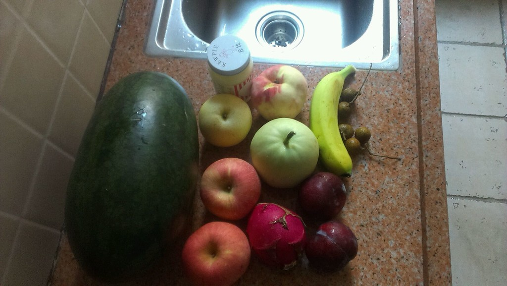 水果沙拉冰的做法步骤
