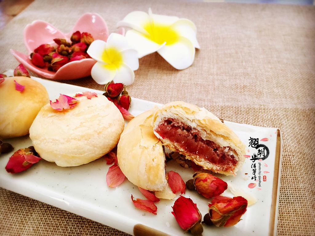 玫瑰花饼的做法图解13