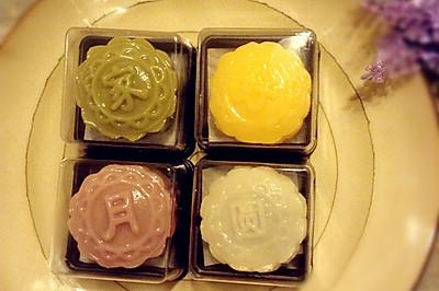 家好月圆~冰皮月饼(附四种口味的详细做法)