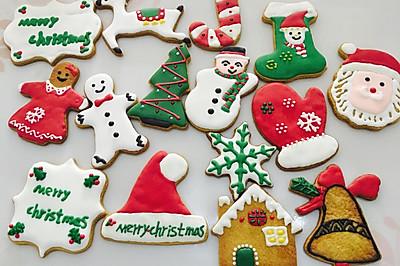 圣诞姜饼。超详细