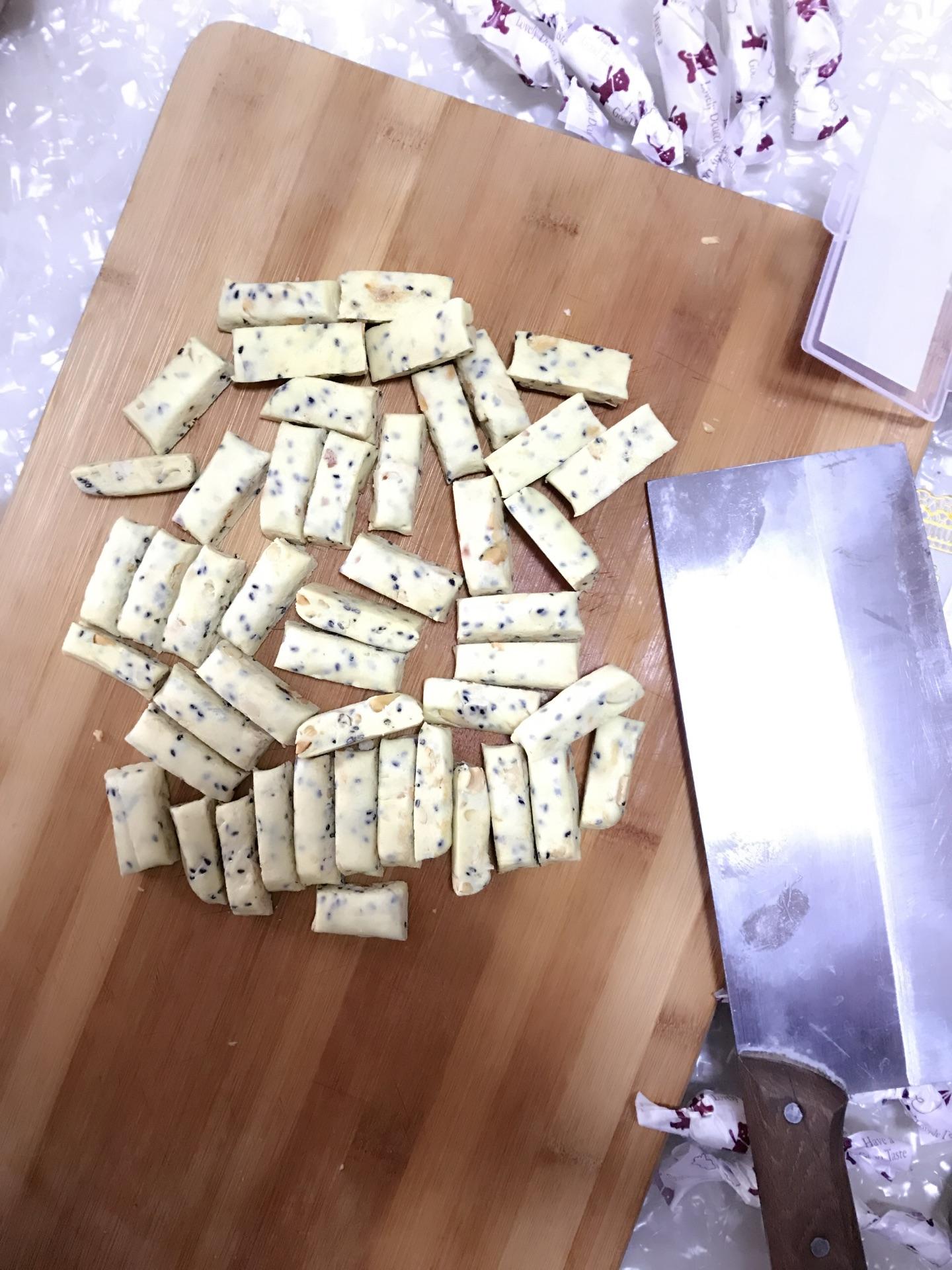 手工牛轧糖的做法图解7