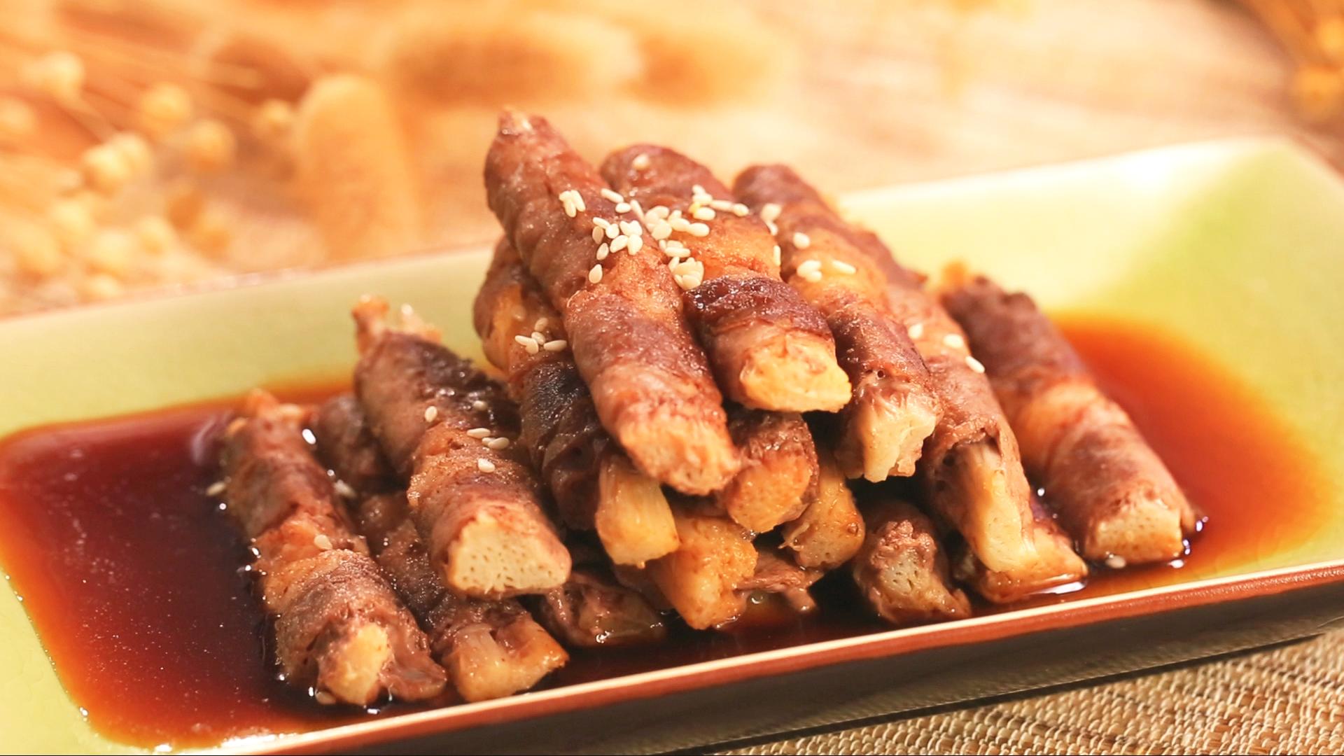 金针菇肥牛卷的美食_菜谱_豆果做法炖三文鱼图片