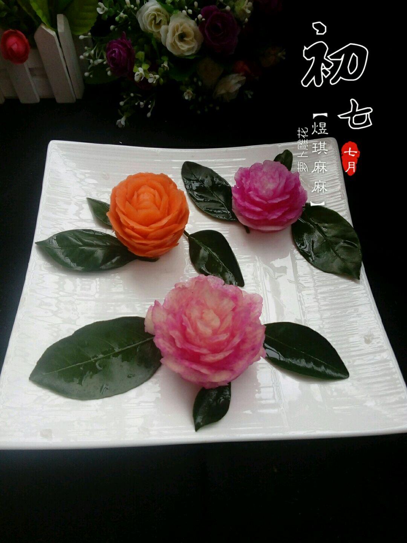 萝卜雕花的做法_【图解】萝卜雕花怎么做如何做好吃