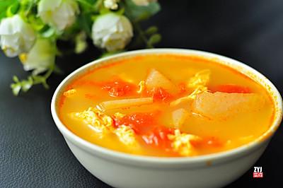 番茄冬瓜蛋汤