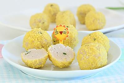 小米裹肉丸 宝宝辅食微课堂
