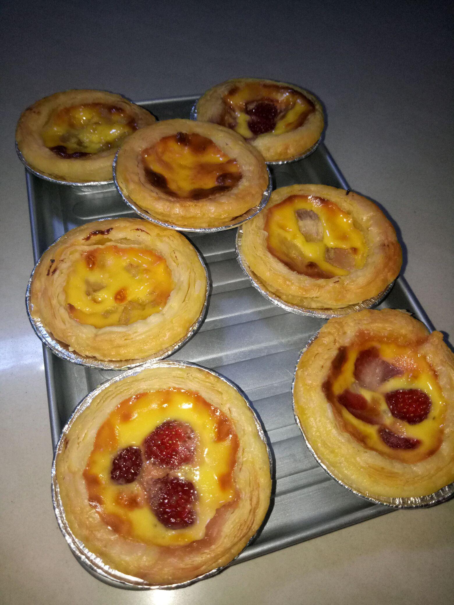 简单易做的蛋挞的做法步骤 2.