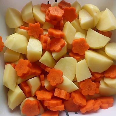 红烧河蟹(胡萝卜土豆)的美食_菜谱_豆果做法排骨可以吃葡萄吗图片