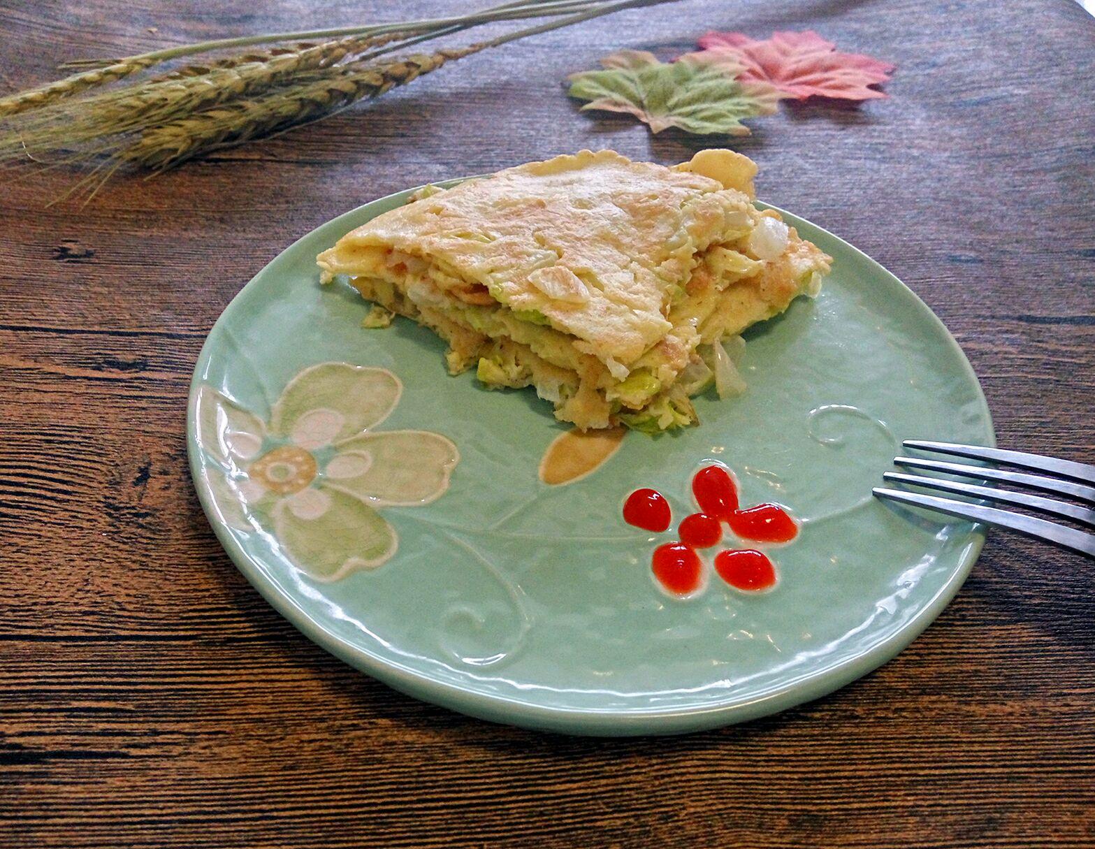 白菜煎饼的做法步骤