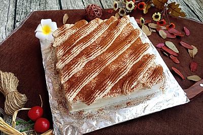 咖啡奶油蛋糕#长帝烘焙节(半月轩)#