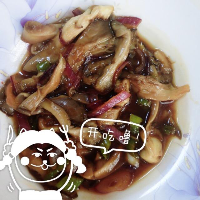耗油炒美食的蘑菇_鸡胸_豆果菜谱吃做法肉一天要吃多少钱图片