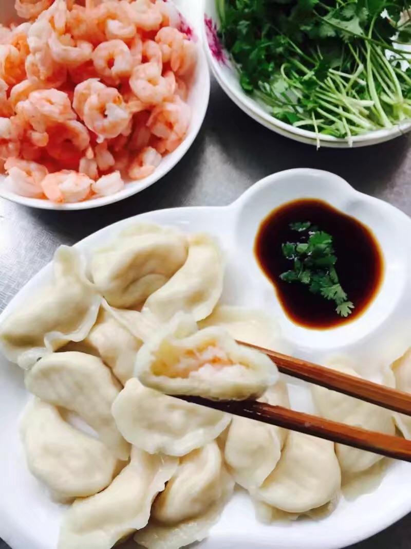 虾仁饺子的做法图解7