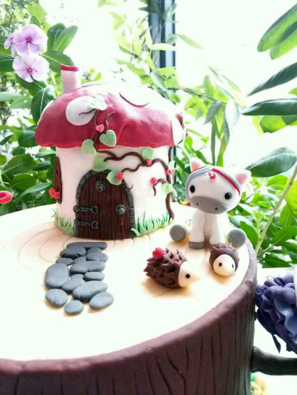甜品台蛋糕--童话森林