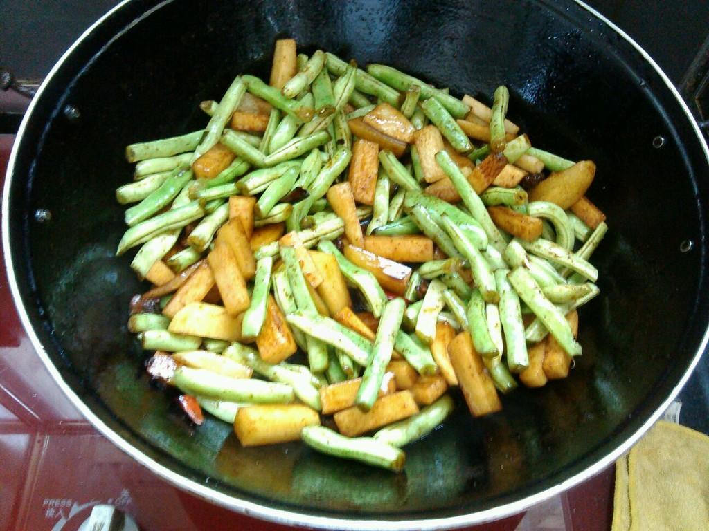 早餐蒸儿童做法图解2菜谱面的秋季豆角图片