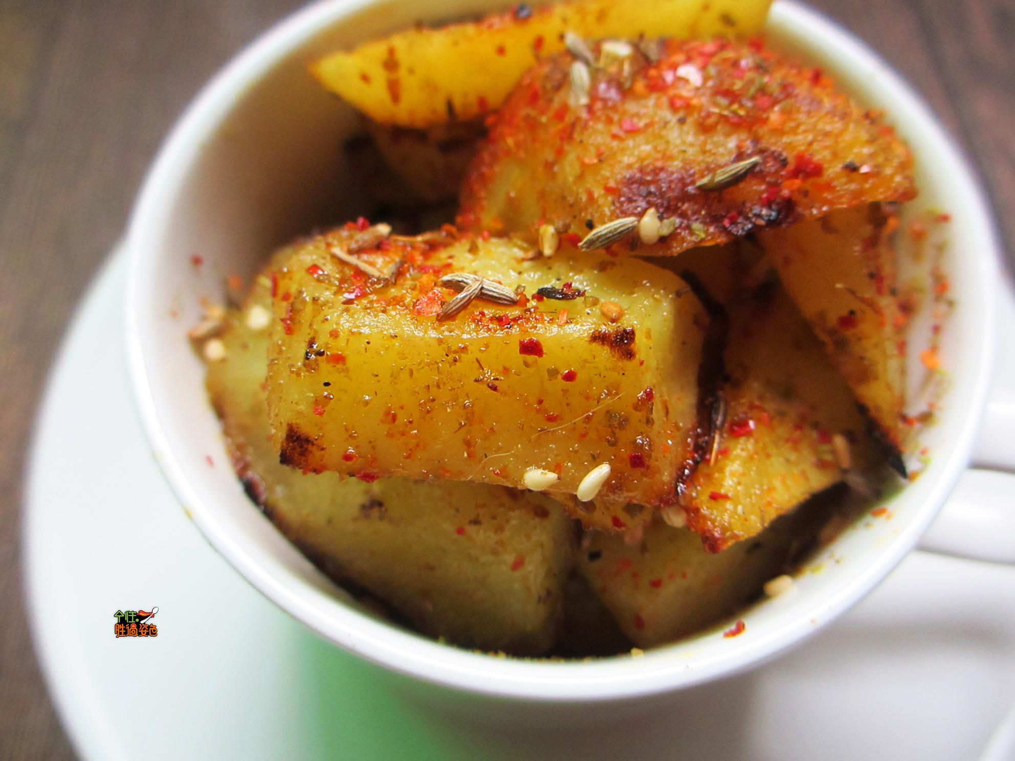 免炸版 锅巴土豆#松下多面美味#的做法图解11